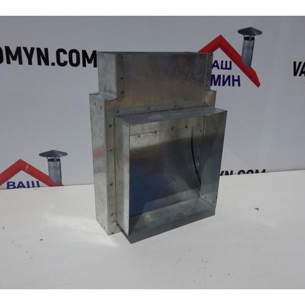 Адаптер прямоугольное для вентиляции