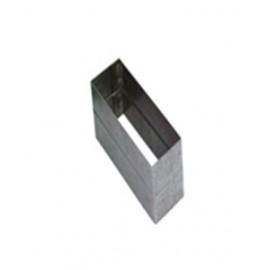 Соединитель прямоугольных труб для вентиляции