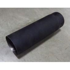 Черная труба дымохода (0,5 м)