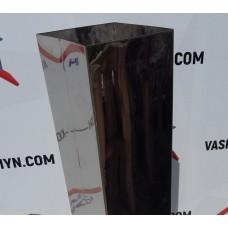 Короб из хромированной нержавейки (25 см)