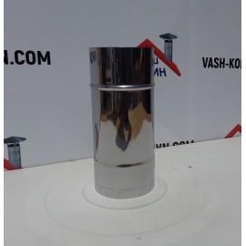 Труба из нержавейки с хромовым напылением (0.25 м)