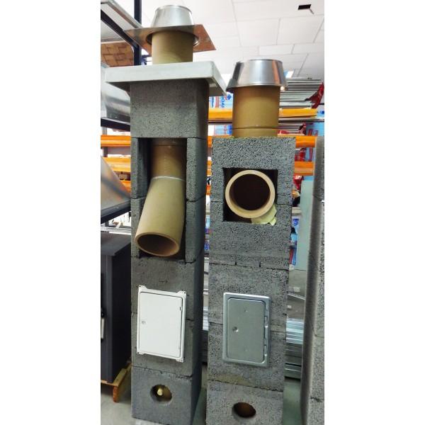 Керамическая труба Schiedel UNI