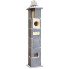 Керамический дымоход с вентиляцией