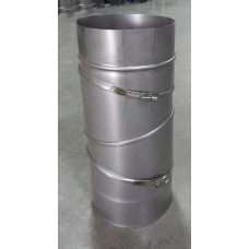 Колено для дымохода 0°-90°