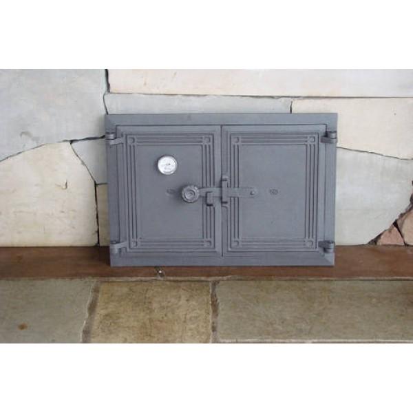 Дверца на две створки с термометром DCHP5T Halmat
