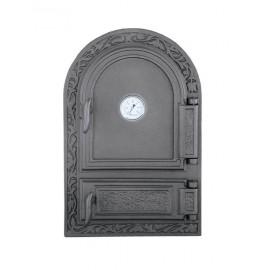 Спареные дверцы для печи с термометром DW10T Halmat
