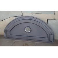 Дверцы для печей с термометром