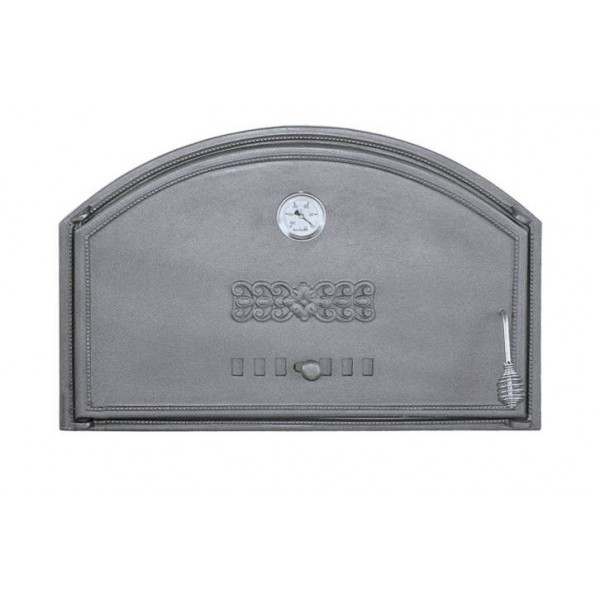 Дверцы из чугуна с термометром DCHD1T