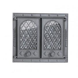 Дверцы на две створки со стеклом LITWA II Halmat