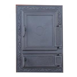 Двойные дверцы для печки DW12 Halmat