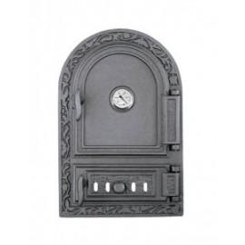 Спареные дверцы для печи с термометром DW10RT Halmat