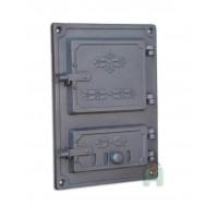 Спареные печные дверки DPK4R  Halmat