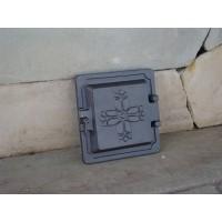 Смотровая дверца из чугуна DKR2 Halmat