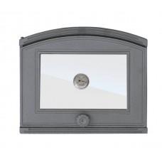 Дверцята для печі з термометром DP1T Halmat