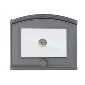 Дверцы для печи с термометром DP1T Halmat