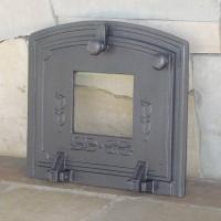 Чугунные дверки со стеклом для духовки Halmat