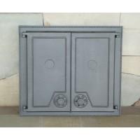 Печные двухстворчатые дверцы DW6 Halmat