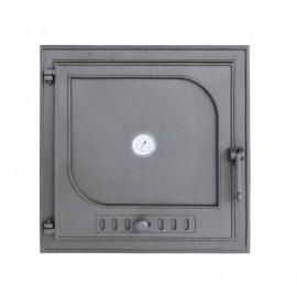 Дверцы из чугуна з термометром DW9T Halmat