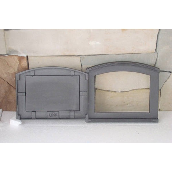 Дверцы для печи сплошная DP3 Halmat