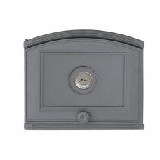 Дверцы для печи сплошные с термометром Halmat
