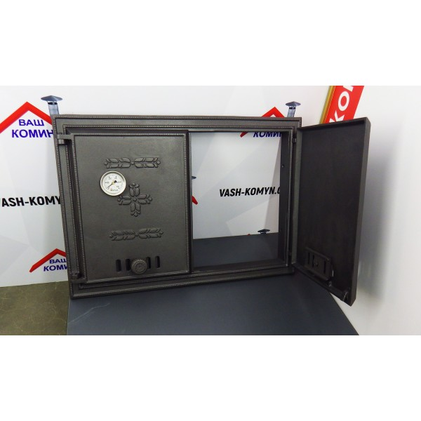 Двухстворчатая дверца с термометром DCHP2 Halmat