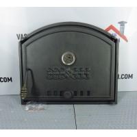 Дверцы из чугуна DCHS1T с термометром