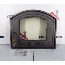 Дверцы из чугуна со стеклом DCHS3