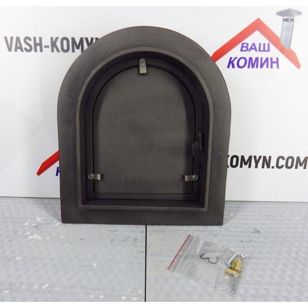 Арочная сплошная дверца DPK10 Halmat