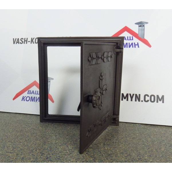 Чугунная дверца для печи DPK13 Halmat