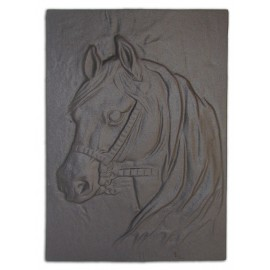 "Чугунная плита для камина ""Лошадь"""