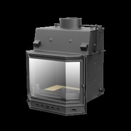 Камин с водяным отоплением PL190Pryzma (цельная) 19 кВт