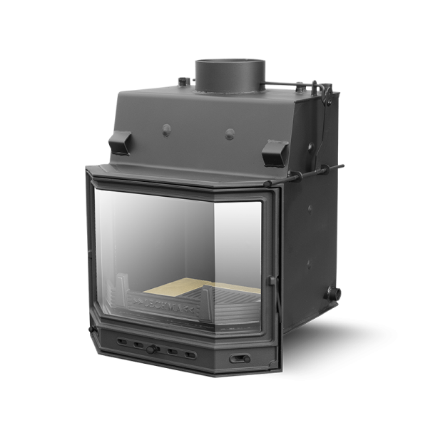 Камин-котел на дровах PL190 Pryzma (цельная) 8 кВт