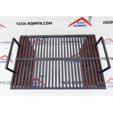 Колосниковая чугунная решетка 550 x 380 x 15 мм