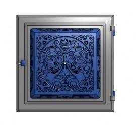 Глухие печные дверки из чугуна (33 х 33 см)