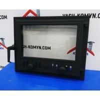 Дверца для камина со стеклом VVK (50 х 40 см)