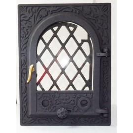 Стеклянная дверца для печи