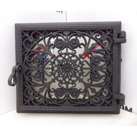 Декоративная дверца в печь RIMINI