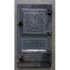 Дверца чугунная двойная