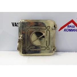 Чугунная дверка топочная Dunantul 25х25см/22х22см