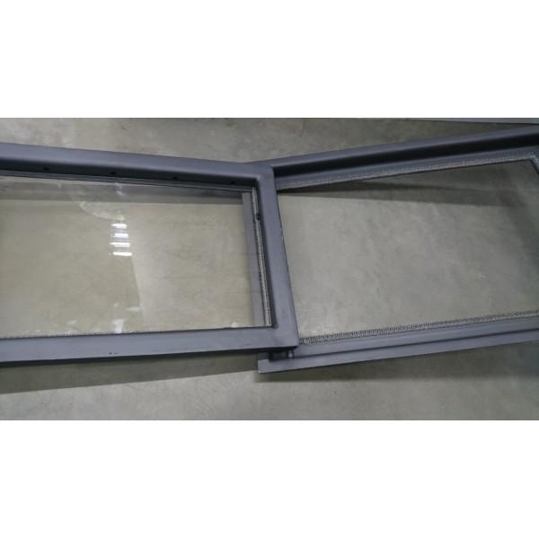 Дверцы для камина со стеклом под заказ