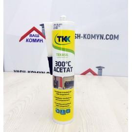 Силиконовый огнестойкий герметик Tekasil300 °C Acetat