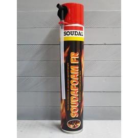 Огнезащитная пена Soudal Soudafoam FR