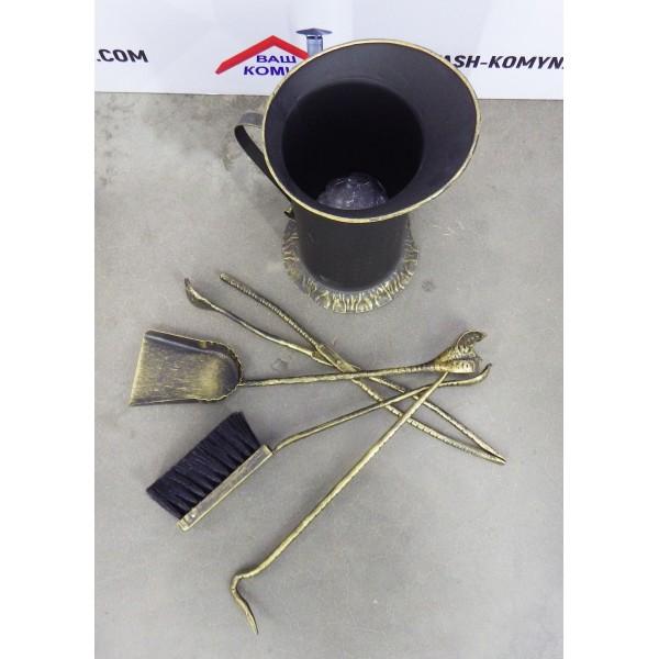 Кованый каминный набор Amfora
