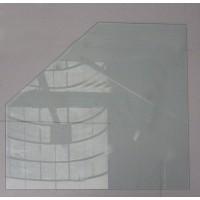 Стеклянная подставка под печь LONDON