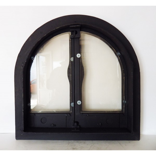 Стеклянные дверцы для печей
