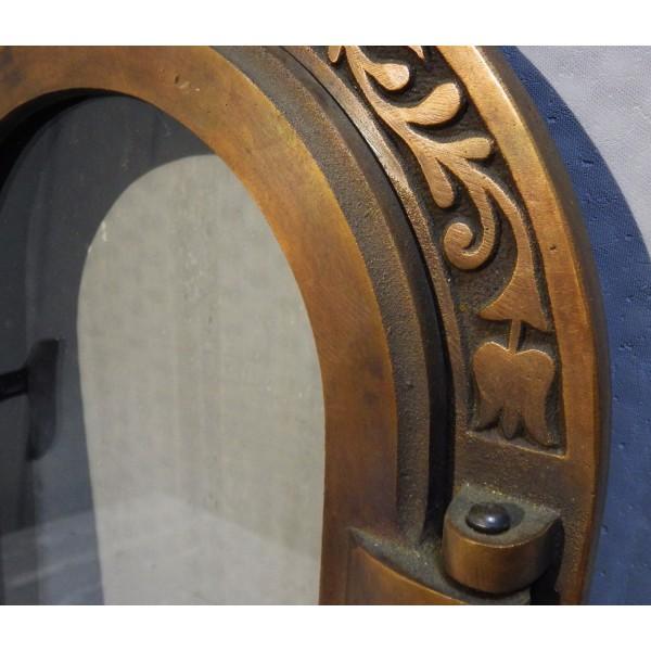 Дверцы двойные латунные