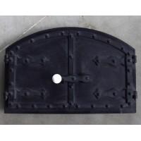 Арочные чугунные двери для хлебной печи