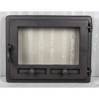 Дверца для камина из жаропрочного стекла