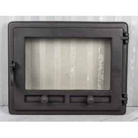 Дверца для камина из жаропрочного стекла (48 х 36 см)