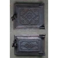 Комплект чугунных дверок для печей